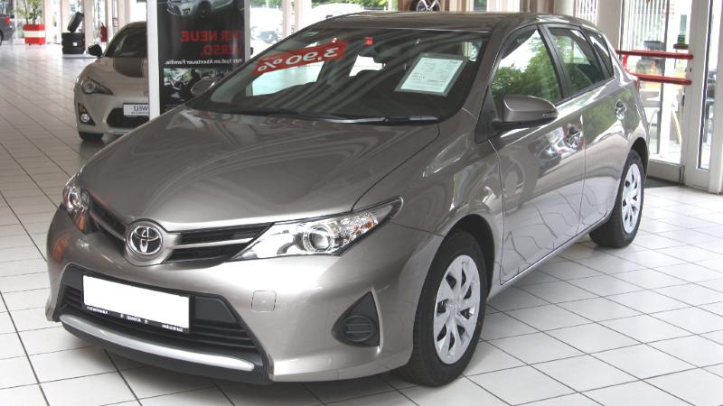 Felgi Do Toyota Auris