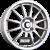 TEAM DYNAMICS PRO RACE 1.2 Glitter-Silver Einteilig könnyűfém felni
