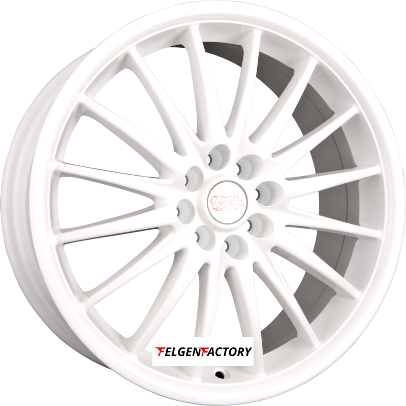 TEAM DYNAMICS JET Racing-White Einteilig 7.00 x 17 ET 38 4x100