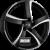 ALUTEC SHARK Racing-Schwarz Frontpoliert Einteilig könnyűfém felni