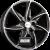 RONAL R51 Jetblack Frontkopiert Einteilig könnyűfém felni