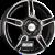 RONAL R52 TREND - Schwarz Glanzpoliert Einteilig könnyűfém felni