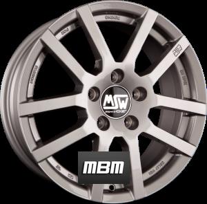 MSW MSW 22 Grey Silver Einteilig
