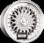 R STYLE WHEELS RS01 Silber Hornpoliert Einteilig könnyűfém felni