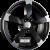 DBV TORINO II Schwarz Matt Poliert Einteilig könnyűfém felni