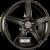 ProLine Wheels  CX200 Black Matt Einteilig könnyűfém felni