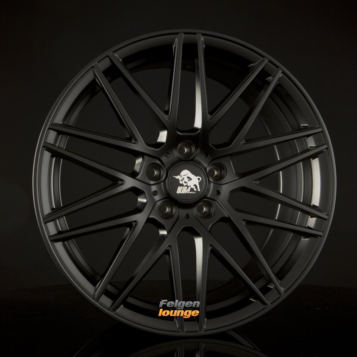 4 alufelgen ultra wheels ua1 race matt black 8 5x19 et45. Black Bedroom Furniture Sets. Home Design Ideas