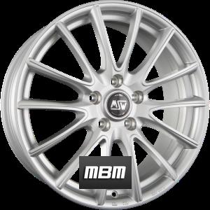MSW MSW 86 Full Silver Einteilig