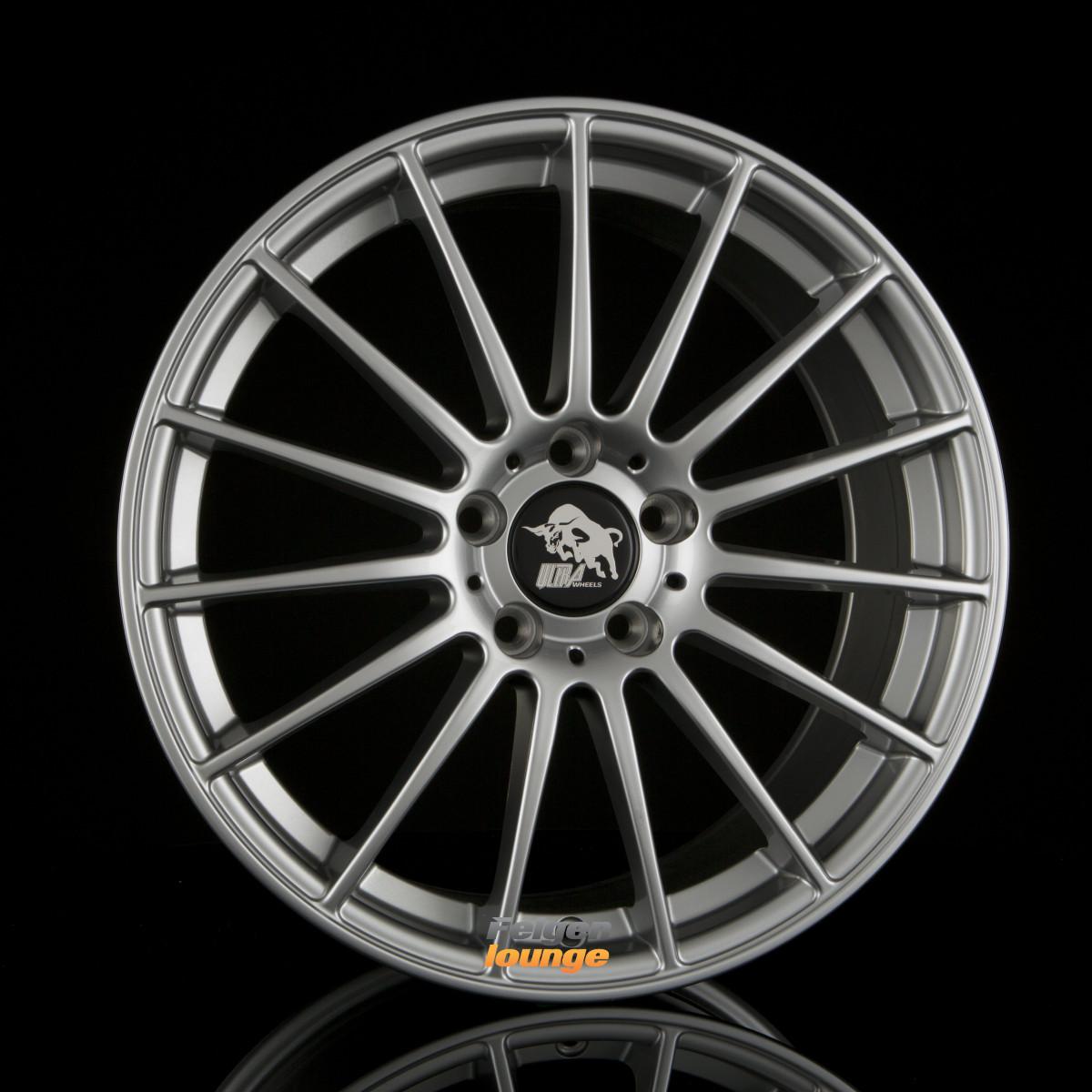 4 alufelgen ultra wheels ua4 speed titan 8x18 et48 5x112. Black Bedroom Furniture Sets. Home Design Ideas