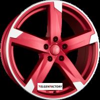 image-RONDELL 01RZ Metallic Rot Matt Poliert Einteilig 8.00 x 19 ET 48 5x112