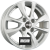 OXXO OBERON 4 (OX7) Silver Einteilig könnyűfém felni