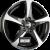 DBV 5SP 001 Schwarz Gl�nzend, Front Poliert Einteilig könnyűfém felni