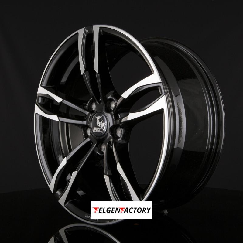 4x felgen ultra wheels ua11 boost 8x18 et45 5x120 black. Black Bedroom Furniture Sets. Home Design Ideas