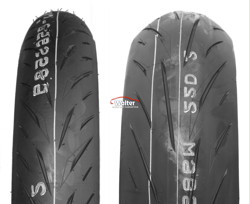 BRIDGESTONE 160/60ZR17 (69W) TL  REAR S 22 R