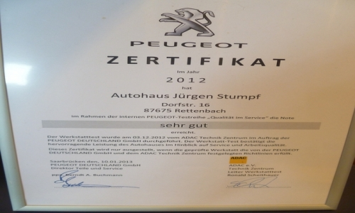 Bild der Firma Autohaus Stumpf E. K.